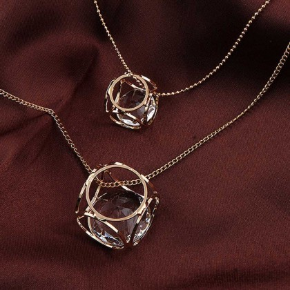 Cube Layered Necklace