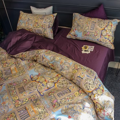 Elegant Egyptian Cotton Duvet Cover Set