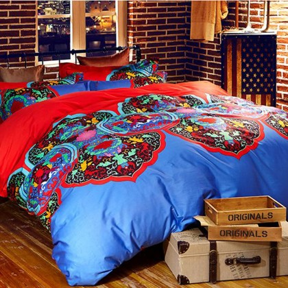 Excotic Duvet Cover Set E