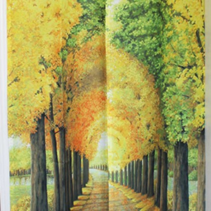 Autumn Door Curtain