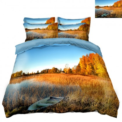 Fall Scenery Duvet Covet Set I