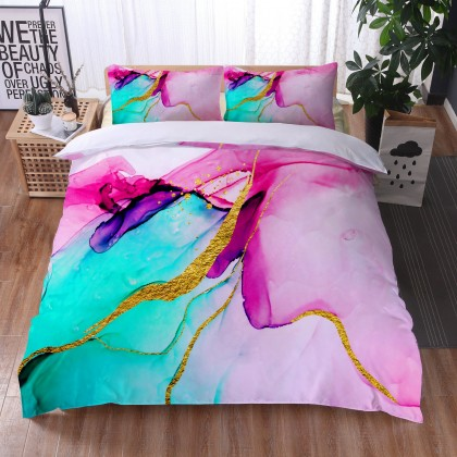 Marble River Duvet Cover Set 1