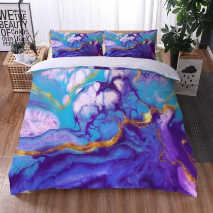 Marble River Duvet Cover Set 9
