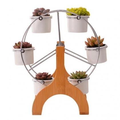 Ferris Wheel Succulent Planter