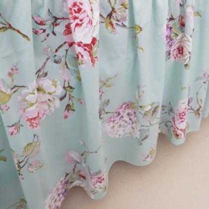 Victorian Garden Ruffle Bedskirt