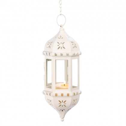 Flower Tower Hanging Lantern