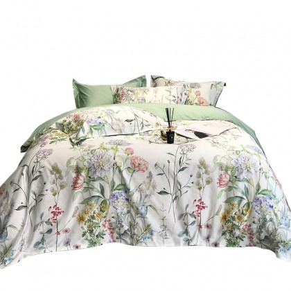 Cottage Botanical Garden Duvet Cover Set