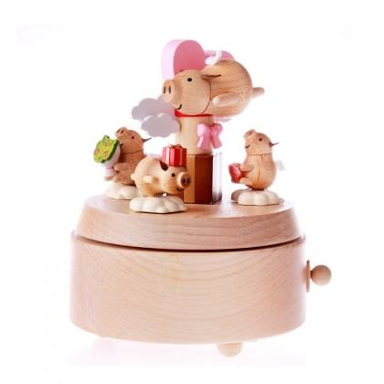 Flying Pig Gift Music Box