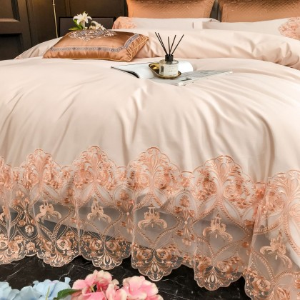 Champion French Lace Duvet Cover Set