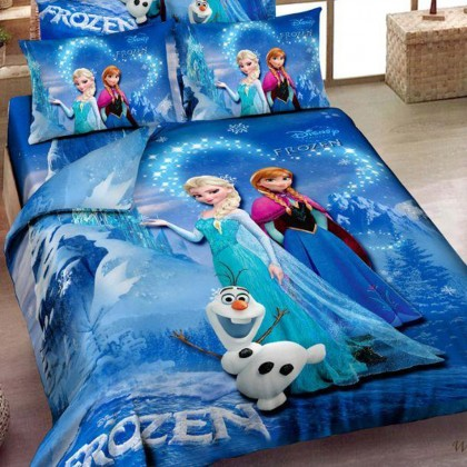 Frozen the Snow Queen Duvet Cover Set