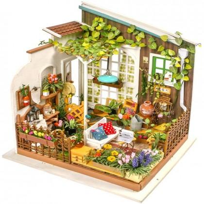 Miniature Garden DIY Dollhouse Kit