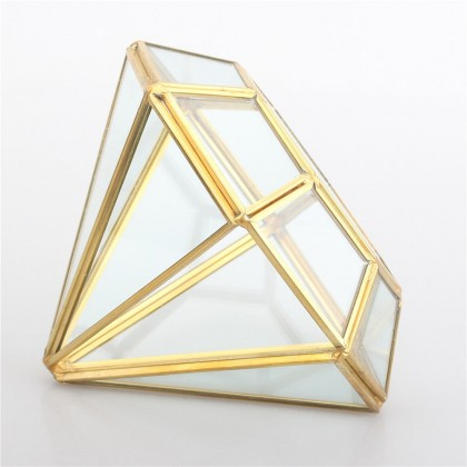 Geometric Diamond Terrarium