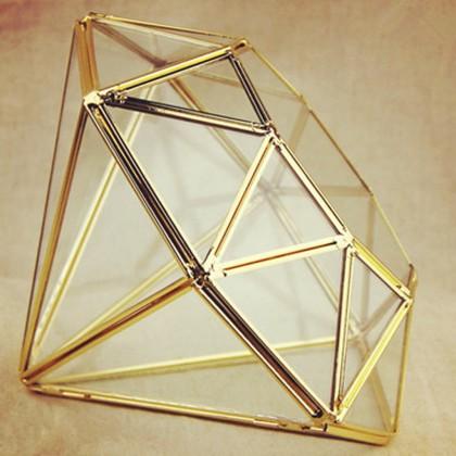 Geometric Diamond Terrarium