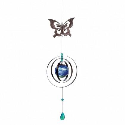 Glow In The Dark Butterfly Wind Spinner