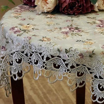 Verona Green Tablecloth