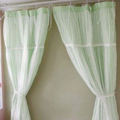 Jasmine Green Ruched Panel