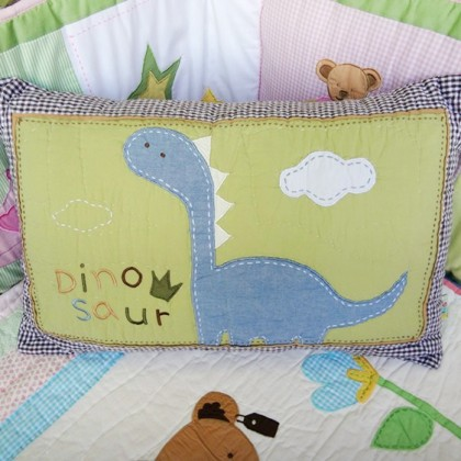Dinosaur Decorative Cushion Cover