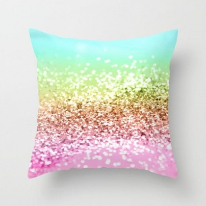Sequin Pattern Cushion Cover F