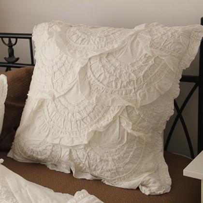 White Quilt Sham