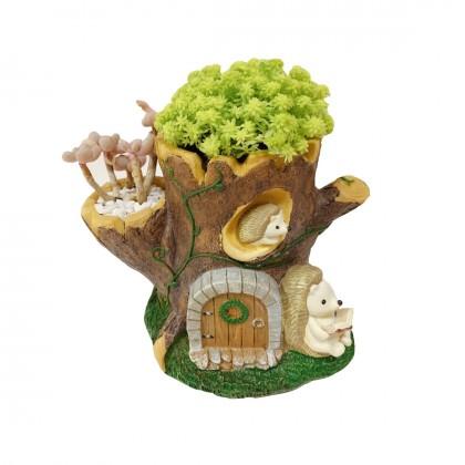 Hedgehog Succulent Plant Pot Organizer