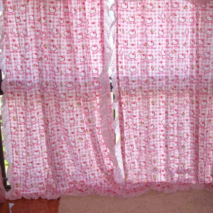 Hello Kitty Curtain Panel