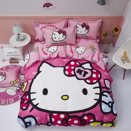 Hello Kitty Cute Duvet Cover Set