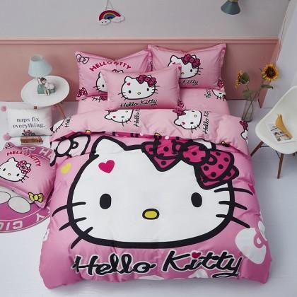 Hello Kitty Pink Duvet Cover Set