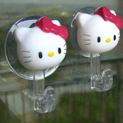 Hello Kitty Suction Hooks