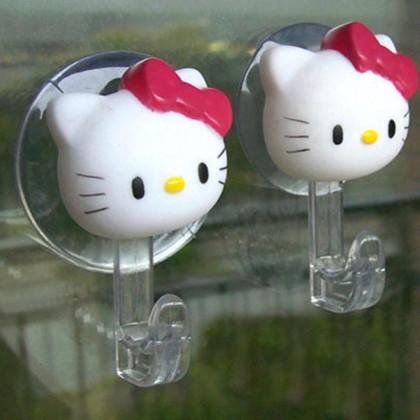 Hello Kitty Suction Hooks