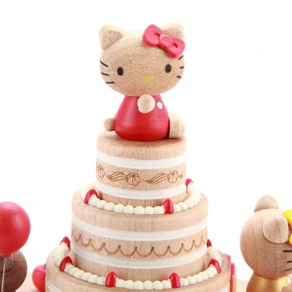 Hello Kitty Birthday Cake Music Box