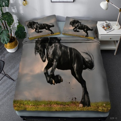 Horse Theme Duvet Cover Set 11