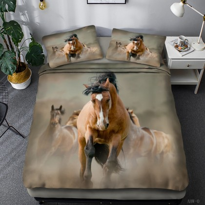 Horse Theme Duvet Cover Set 13