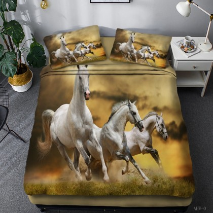 Horse Theme Duvet Cover Set 14