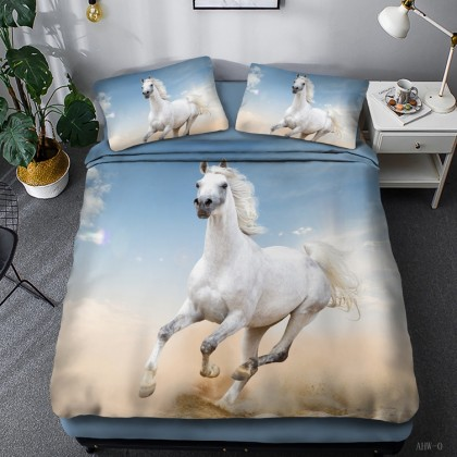 Horse Theme Duvet Cover Set 15