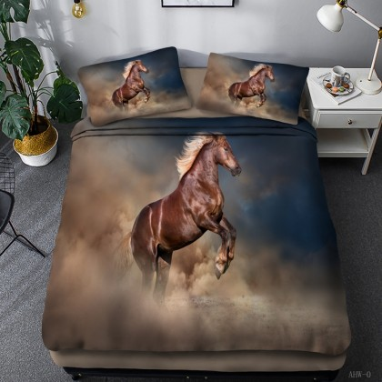 Horse Theme Duvet Cover Set 16