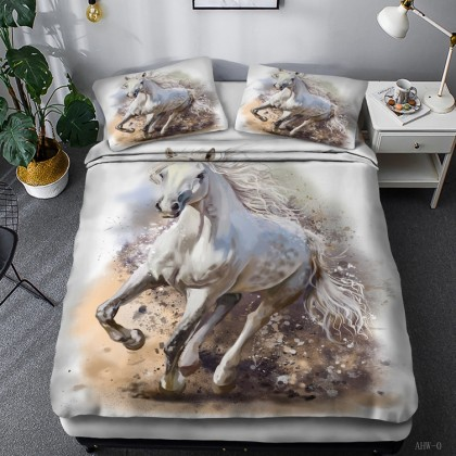 Horse Theme Duvet Cover Set 17