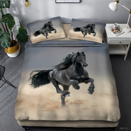 Horse Theme Duvet Cover Set 02
