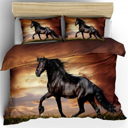 Horse Theme Duvet Cover Set 21
