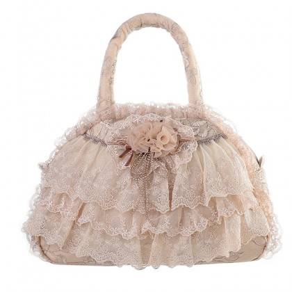 Lolita Ruffle Lace Bag