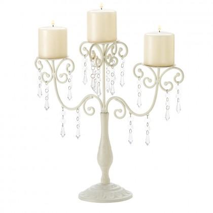 Ivory Elegance Candelabra