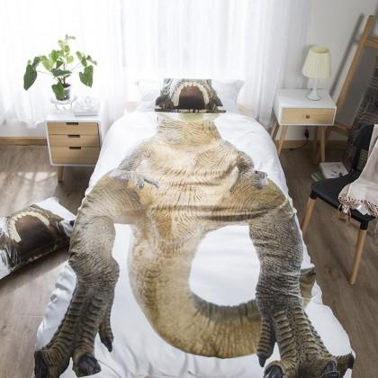 Jurassic Dinosaur Duvet Cover Set