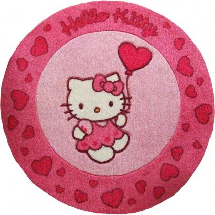 Hello Kitty Round Rug