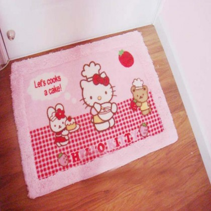 Kitty Rug Door Mat A- Final Sale