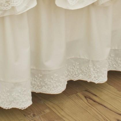 Lace Whisper Bedskirt