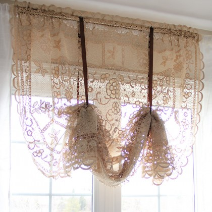 Reticella Lace Balloon Shade