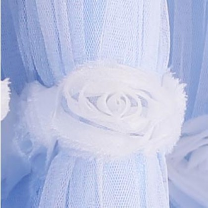Simply Elegant Blue Tulle Panel