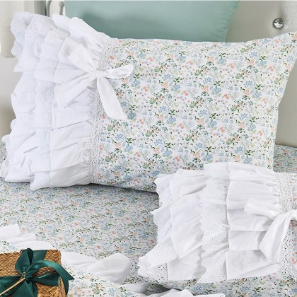 Country Lace Duvet Cover Set