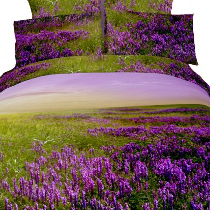 Lavender Field Bedding Set