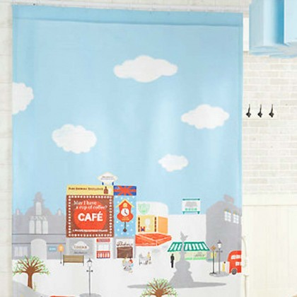 Street Curtain Panel