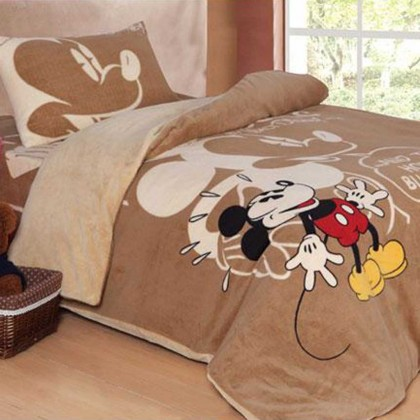 Mickey Mouse Fleece Duvet Cover Set